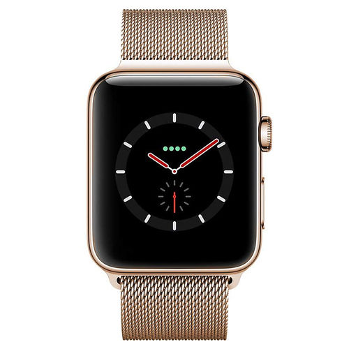 Gold Milanese Loop Stainless Steel Band for Apple Watch 38 / 40mm